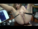 Hairy pussy webcam girl with big boobs wanks