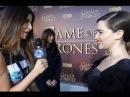 ИНТЕРВЬЮ: Game of Thrones - Season 5 Episode 1 - SF Premiere