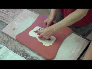 Rene Murray's Slab Inlay Technique