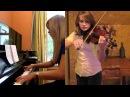 Morrowind Skyrim Theme Piano Violin Medley Taylor Davis and Lara