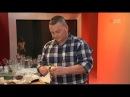 Азу по татарски из говядины с солёными огурцами и вишнёвый кисель с ароматом лавра и мяты