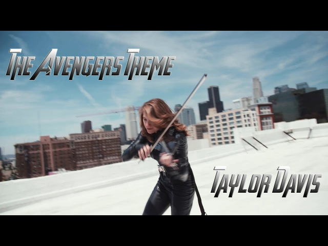 The Avengers Theme - Taylor Davis (Violin Cover)