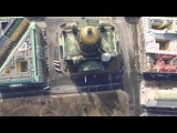 Flying Inspire 1 (music by Vlad Zhukov &amp Madi Serebryakova - Wallow in dust))