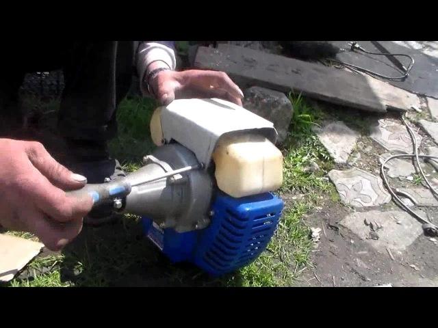 вакуум в бензобаке триммера