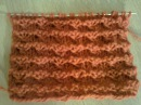 Узор со звездочкой (вязание на спицах). Pattern with an asterisk (knitting).