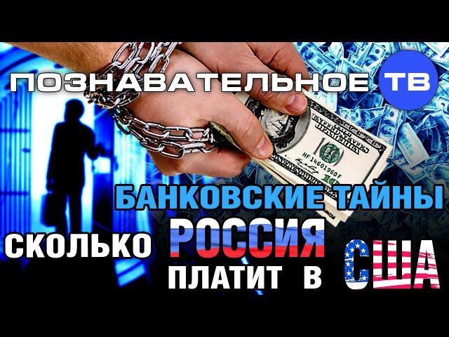 Банковские тайны Сколько Россия платит в США Познавательное ТВ Дмитрий Еньков