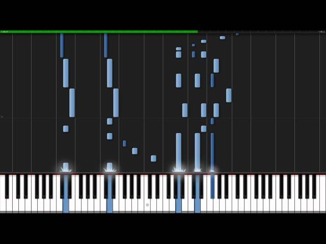 Tsuki Akari - Akame Ga Kill! (Ending 2) [Piano Tutorial] (Synthesia)