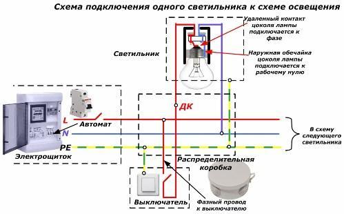 схемы освещения на фоторезисторах