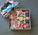 Шляпная коробка с цветами своими руками