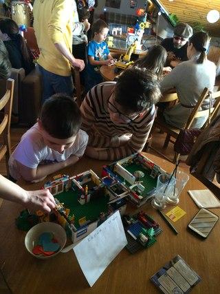 купить конструктор lego minecraft