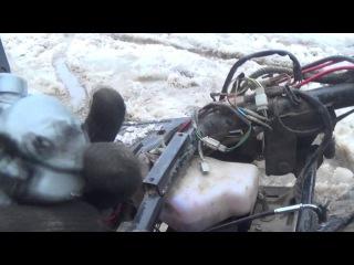 Как поменять / поставить карбюратор на cкутере