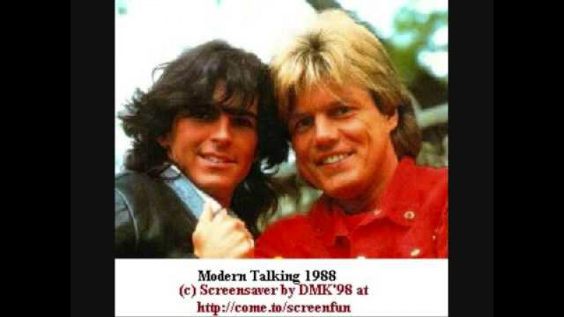 Modern Talking - Don´t Make Me Blue
