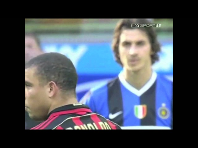 Ibra meets Ronaldo