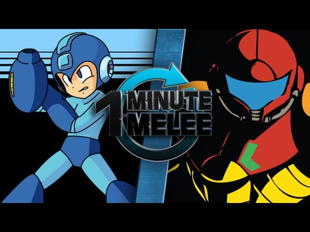One Minute Melee - Samus Aran vs Mega Man (Nintendo vs Capcom)