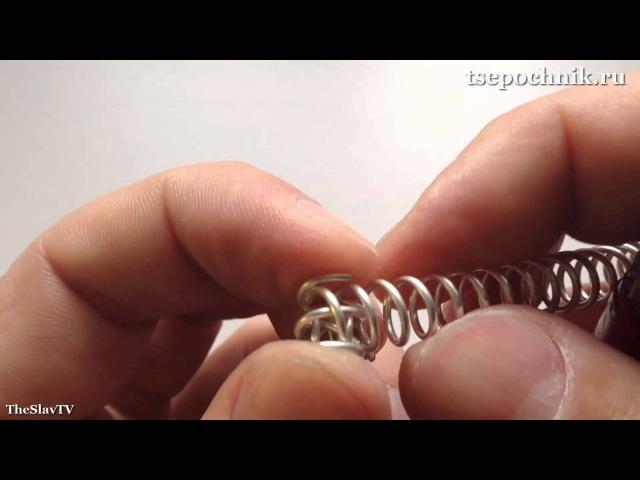 Как делается цепь Американка Питон Кардинал Часть 1 Сборка звеньев цепочки разными способами
