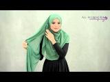 BETSY shawl styling tutorial by Al-Humaira Contemporary