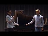 Jason Moran and Vijay Iyer masterclass at NEC