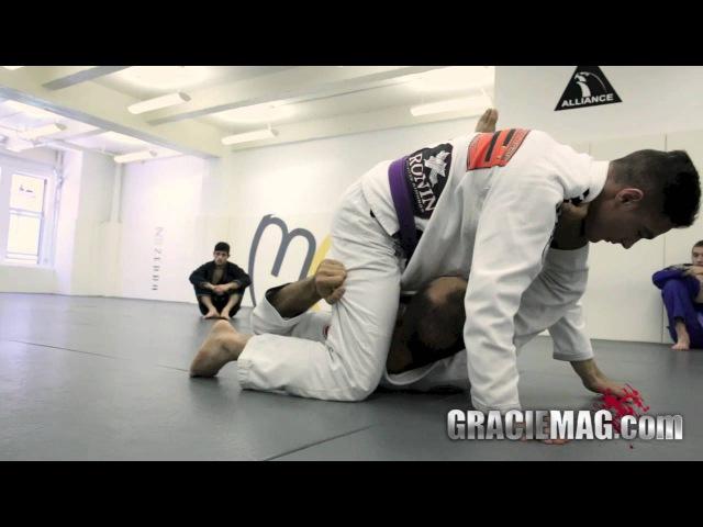 Bernardo Faria teaches two deep half guard drills