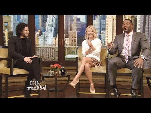 Kit Harington - Chats About Season 5 'Game Of Thrones' - Kelly Michael | 2015