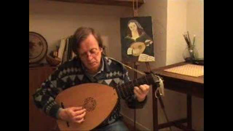 Greensleeves Anonymous Cutting Lute Luth