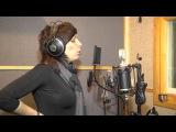 Екатерина Орешкина - рабочий процесс, в звукозаписывающей студии с Ольгой Хает.