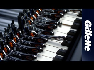 Son Lux and Gillette Razors Piano Performance | Gillette Fusion ProGlide with FlexBall Technology