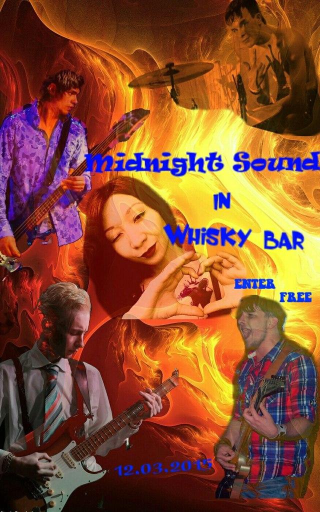 Афиша Владивосток Концерт Midnight Sound в Whisky Bar!