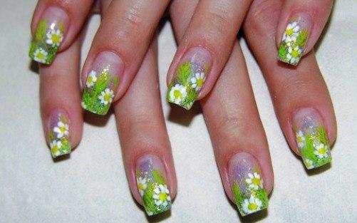 Весенние дизайны для ногтей