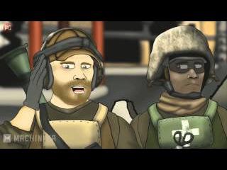 Battlefield Friends 1 Season (1-13) / Друзья по Battlefield 1 сезон серии 1-13 (HD)