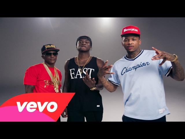 K Camp Boosie Badazz, YG, Too $hort - Cut Her Off (Remix) (Official Music Video 15.07.2014)