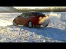 Mazda 323f на снегу