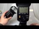 Setting wireless flash on DSLR-A900 for HVL-F58AM (ctrl) and HVL-F56AM (ext)