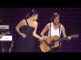 Gianna Nannini ft Laura Pausini - Sei nell'anima Live at San Siro (Traducci