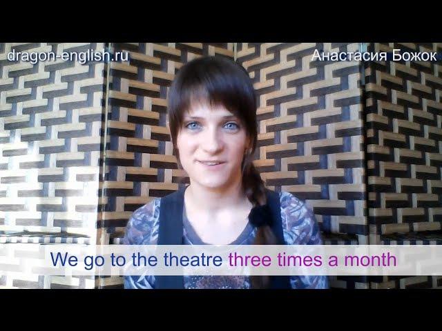 Анастасия Божок: Восприятие английской речи на слух