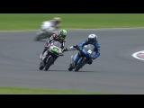 Fenati and Ajo clash in Moto3 warm-up
