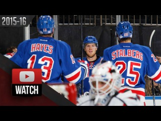 Washington Capitals Vs New York Rangers. November 3, 2015. (HD)