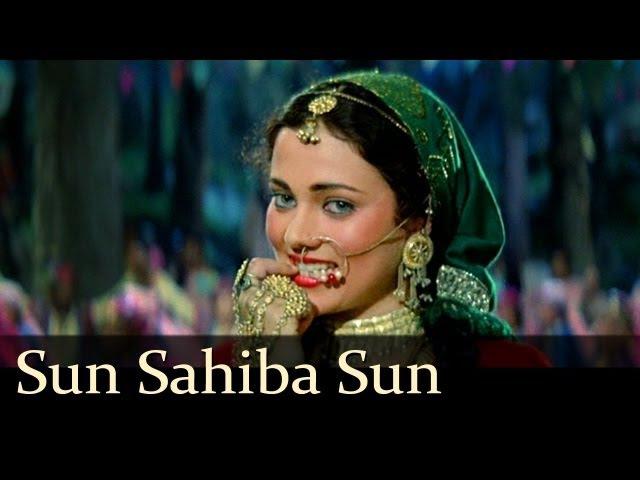 Sun Saiba Sun - Mandakini - Rajiv Kapoor - Ram Teri Ganga Maili - Bollywood Hit Love Songs [HD]