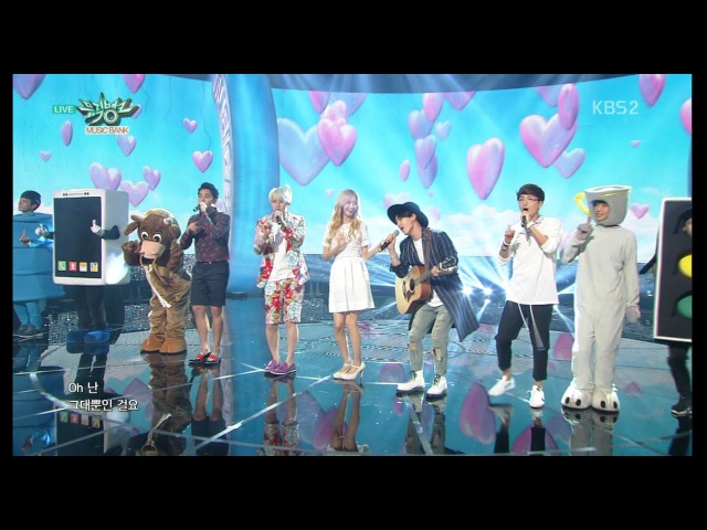 Super Junior 슈퍼주니어_Comeback Stage '첫눈에 반했습니다 (Love at First Sight)'_KBS MUSIC BANK_2015.07.17