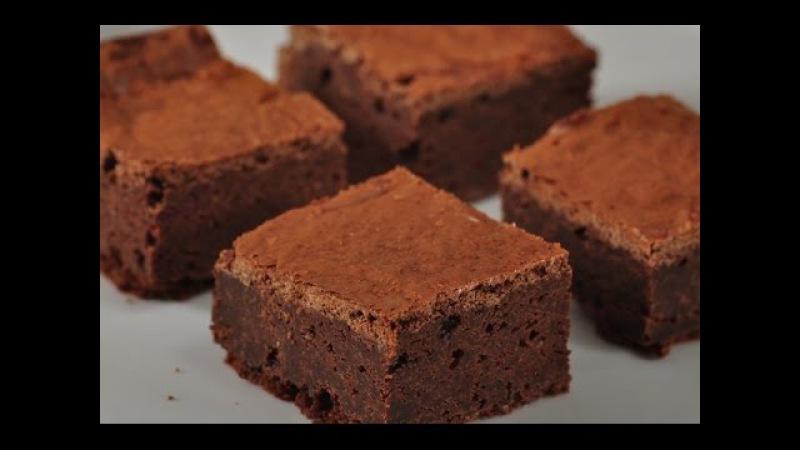 Fudgy Chocolate Brownies Recipe Demonstration - Joyofbaking.com