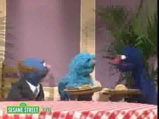 Sesame Street Grover And Finally A New Waiter