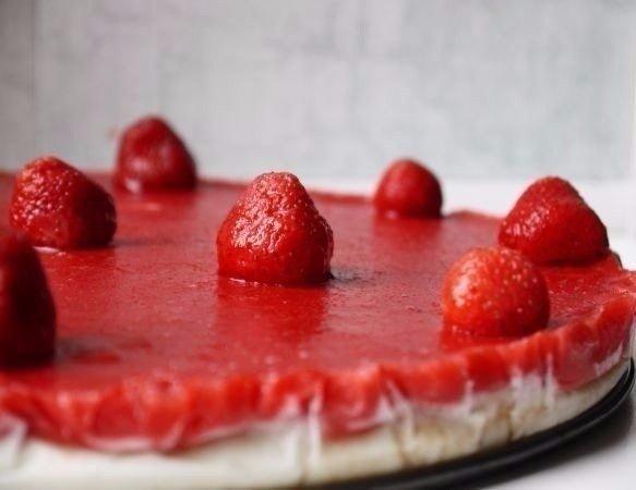 Йогуртовый торт без выпечки фото рецепт