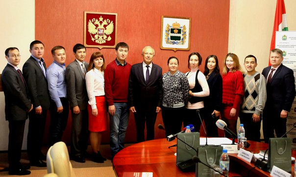 Законодательное Собрание Калужской области посетила делегация из республики Казахстан
