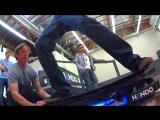 Tony Hawk катается на первом в мире ховерборде - Hendo Hover