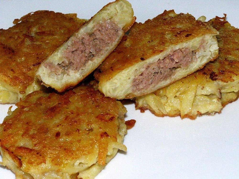 мясные драники рецепт с фото