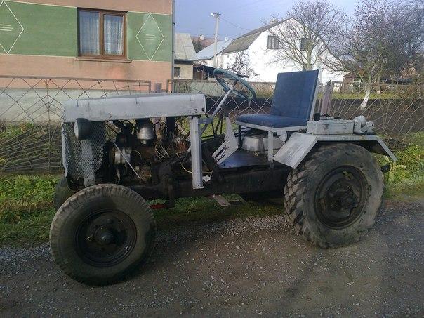 Продам саморобний трактор: 25 000 грн. - Бульдозеры.