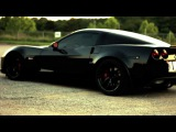Blacked Out Z06 C6 Vette