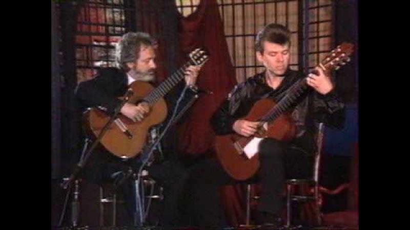 Rare Guitar Video: Jorge Cardoso with Leszek Potasinski plays Milonga duet
