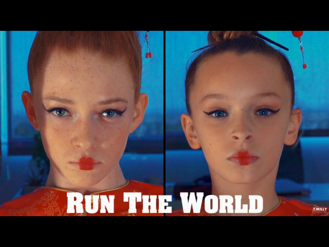 Run The World Taylor Hatala Larsen Thompson Janelle Ginestra Tim Milgram @beyonce 2NE1