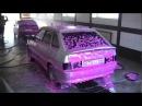 Активная цветная пена для бесконтактной мойки автомобилей