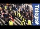 Navijač Partizana moli navijače Atletik Bilbaa za šal